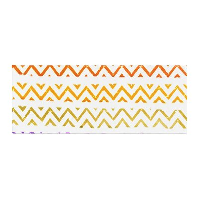 Sreetama Ray Chevron Add Warm Chevrons Bed Runner
