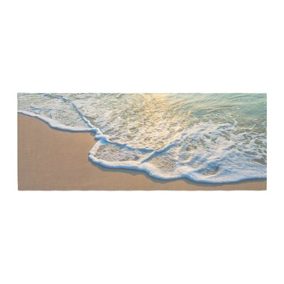 Susan Sanders Ocean Beach Water Photography Bed Runner
