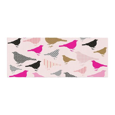 Suzanne Carter Chirp Bird Pattern Bed Runner