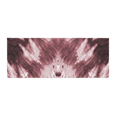 Dye Abstract Bed Runner