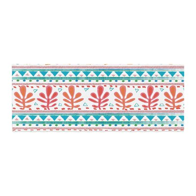 Nika Martinez Spring Strawberries Bed Runner