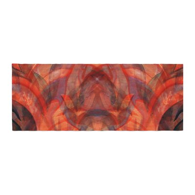 Theresa Giolzetti Seaweed Abstract Bed Runner