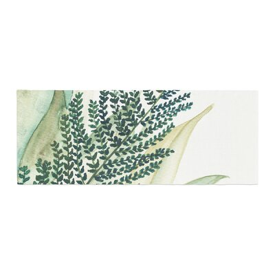 Viviana Gonzalez Botanical Vibes 02 Watercolor Bed Runner