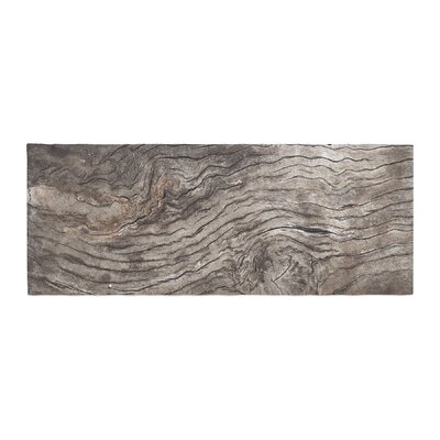 Susan Sanders Tree Bark Wooden Bed Runner
