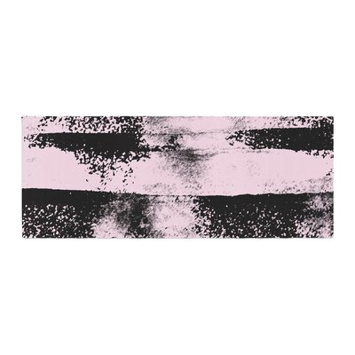 Vasare Nar Abstract Painting Bed Runner