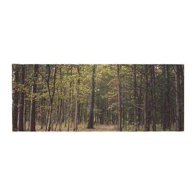 Sylvia Coomes Forest Trees Bed Runner