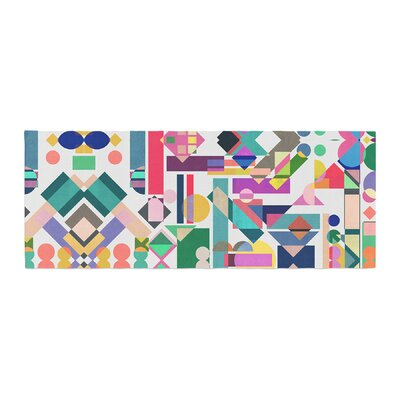 Mareike Boehmer Geometry 2B Abstract Bed Runner