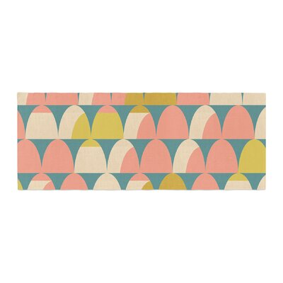 Michelle Drew Scallops Bed Runner