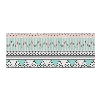 Vasare Nar Chevron Motif Bed Runner