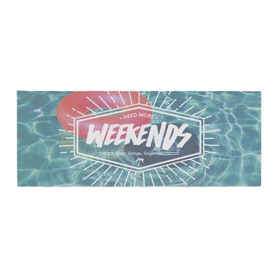 More Weekends Bed Runner