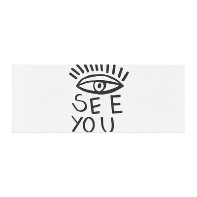 Vasare Nar Eye See You Bed Runner