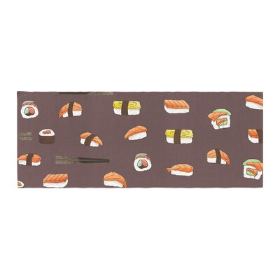 Strawberringo Sushi Pattern Bed Runner