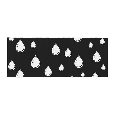 Suzanne Carter Raindrops Bed Runner