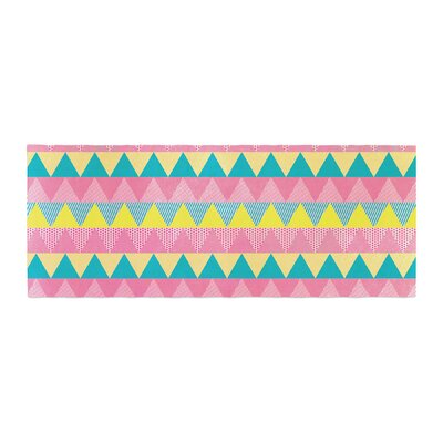 Louise Machado Triangles Bed Runner