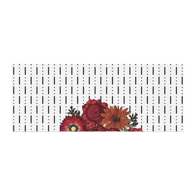 Tobe Fonseca Spring Pattern Dotted Lines Mixed Media Bed Runner