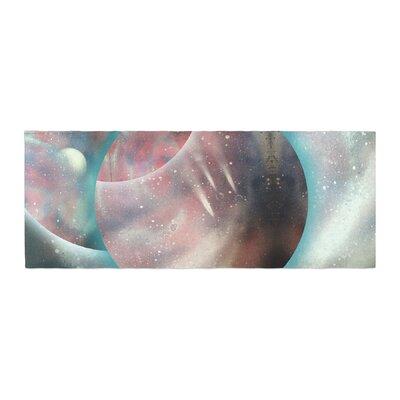 Infinite Spray Art Dimensions Planet Bed Runner