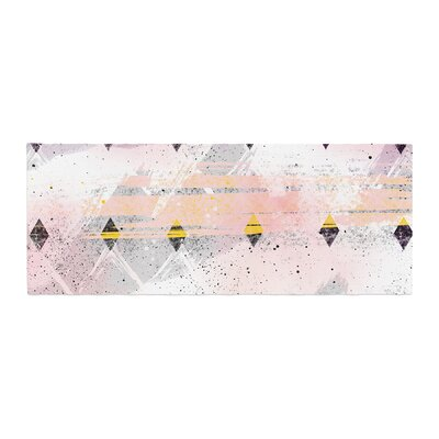 Mmartabc Abstract Geometry and Painting Painting Bed Runner