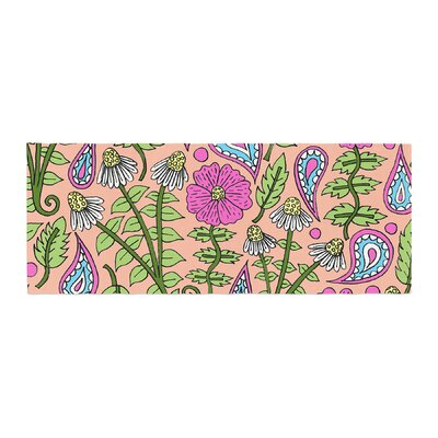 Sarah Oelerich Floral Paisley Bed Runner