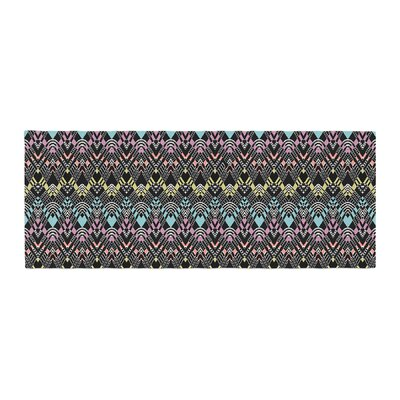 Victoria Krupp Tribal Zigzag Digital Bed Runner