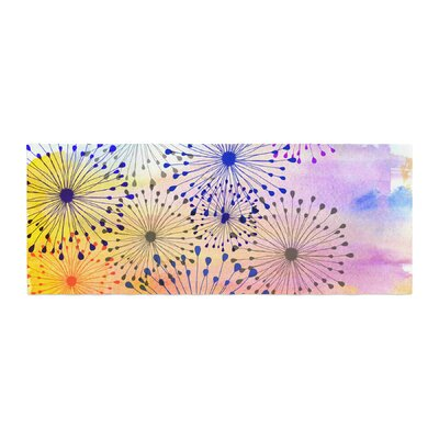 Sreetama Ray Bursting Blossoms Bed Runner