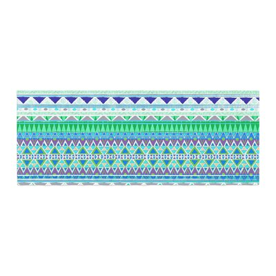 Nika Martinez Emerald Chenoa Bed Runner