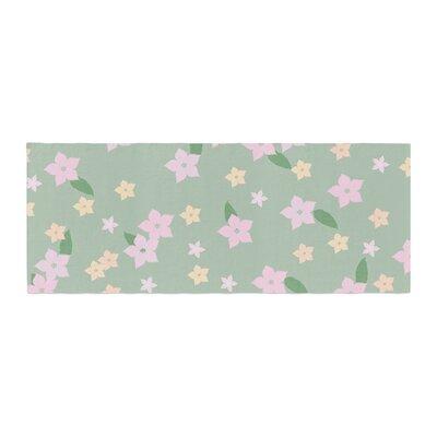Spring Floral Bed Runner