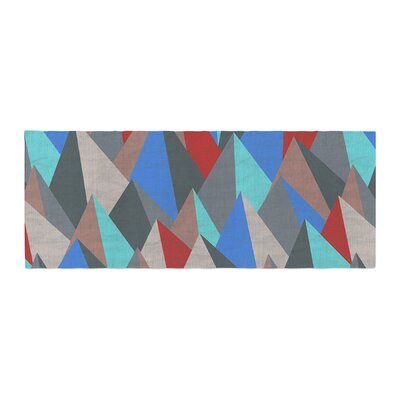 Michelle Drew Mountain Peaks II Bed Runner