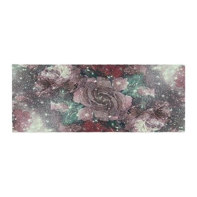 Shirlei Patricia Muniz Love Roses Digital Bed Runner