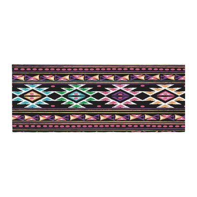 Nika Martinez Aylen Tribal Bed Runner Color: Black