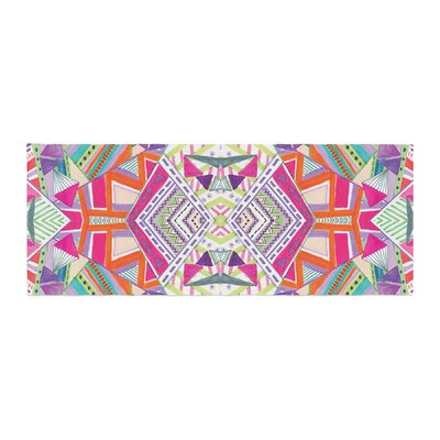 Vasare Nar Carrousel Geometric Bed Runner