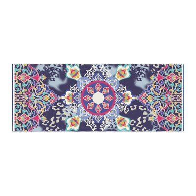 Victoria Krupp Eastern Medallion Vector Bed Runner