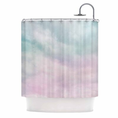 Michelle Drew VIntage Clouds Nature Shower Curtain