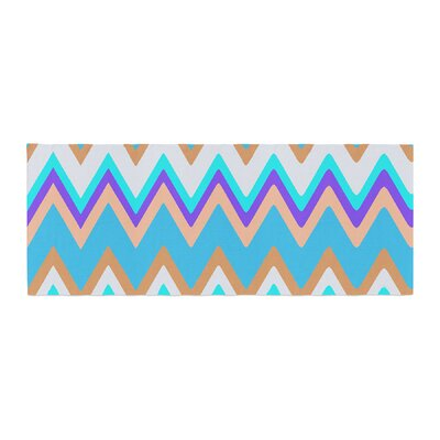 Nika Martinez Girly Surf Chevron Bed Runner
