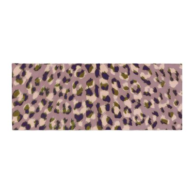 Vasare Nar Leo Cheetah Animal Pattern Bed Runner