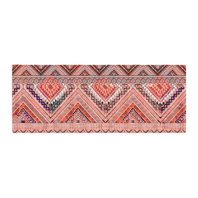 Victoria Krupp Native American Art Illustration Bed Runner