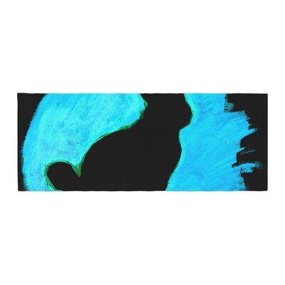 Theresa Giolzetti Moon Bunny Paint Bed Runner