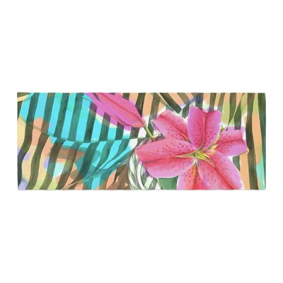 S. Seema Z Lilly n Stripes Bed Runner
