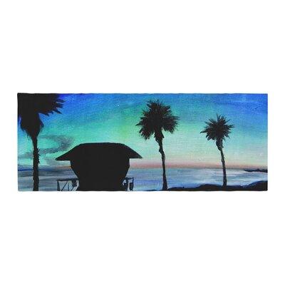 Theresa Giolzetti Carlsbad State Beach Bed Runner