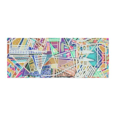 Vasare Nar Abstract Geometric Playground Bed Runner