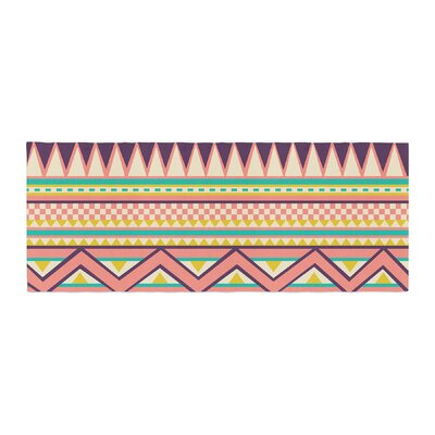 Louise Machado Ethnic Love Tribal Geometric Bed Runner
