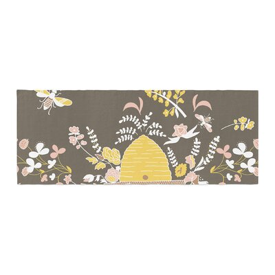 Very Sarie Hope for the Flowers II Bed Runner