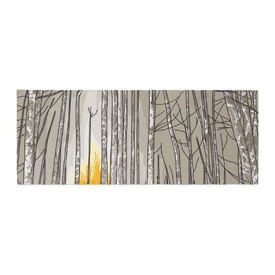 Sam Posnick Smokey Forest Fire Bed Runner