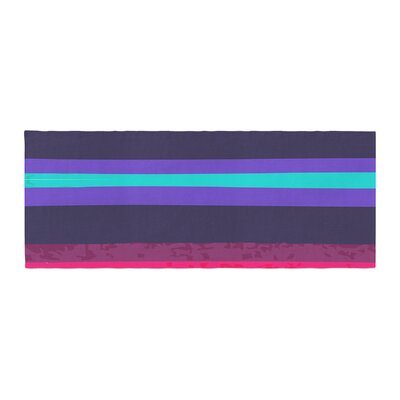 Nika Martinez Surf Stripes Bed Runner
