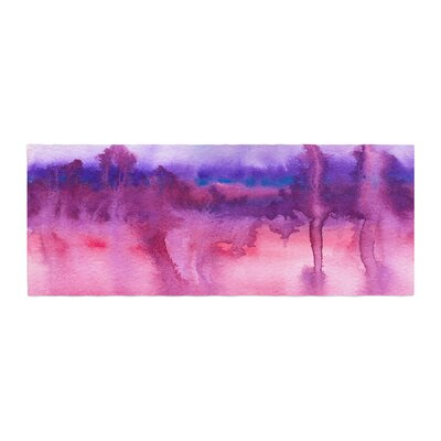 Viviana Gonzalez Improvisation 22 Watercolor Bed Runner