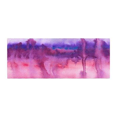 Viviana Gonzalez Improvisation 22 Watercolor Bed Runner