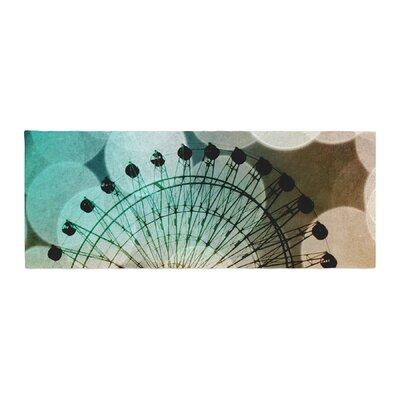 Sylvia Coomes Ferris Wheel Silhouette Bed Runner