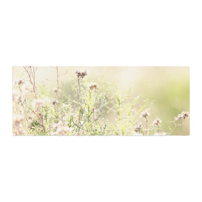 Sylvia Coomes Shimmering Light Nature Photography Bed Runner