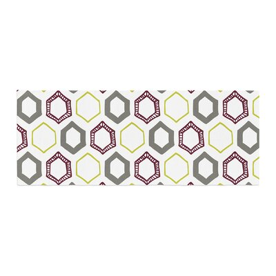 Laurie Baars Hexy Small Geometric Bed Runner