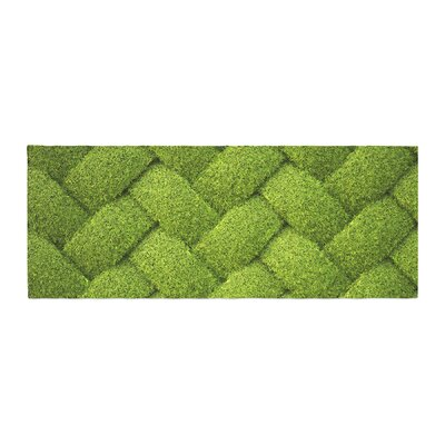 Susan Sanders Ivy Basket Weave Bed Runner
