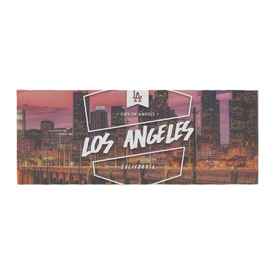 Los Angeles ll Bed Runner